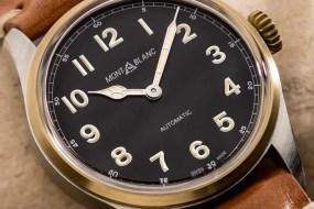 Historisch inspiriertes Vintage-Modell: Montblanc 1858 Automatic