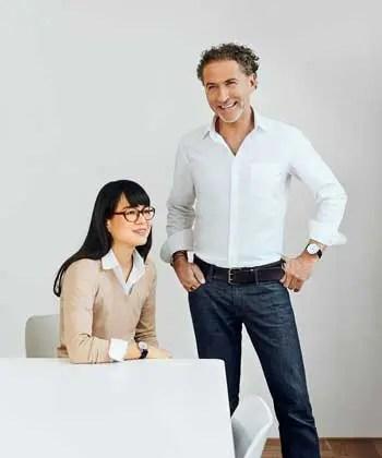 Nomos Autobahn Designer Werner Aisslinger und Tina Bunyaprasit