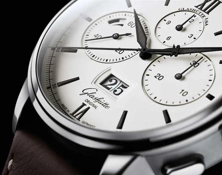 Black & White: neue Variante des Senator Chronograph Panoramadatum