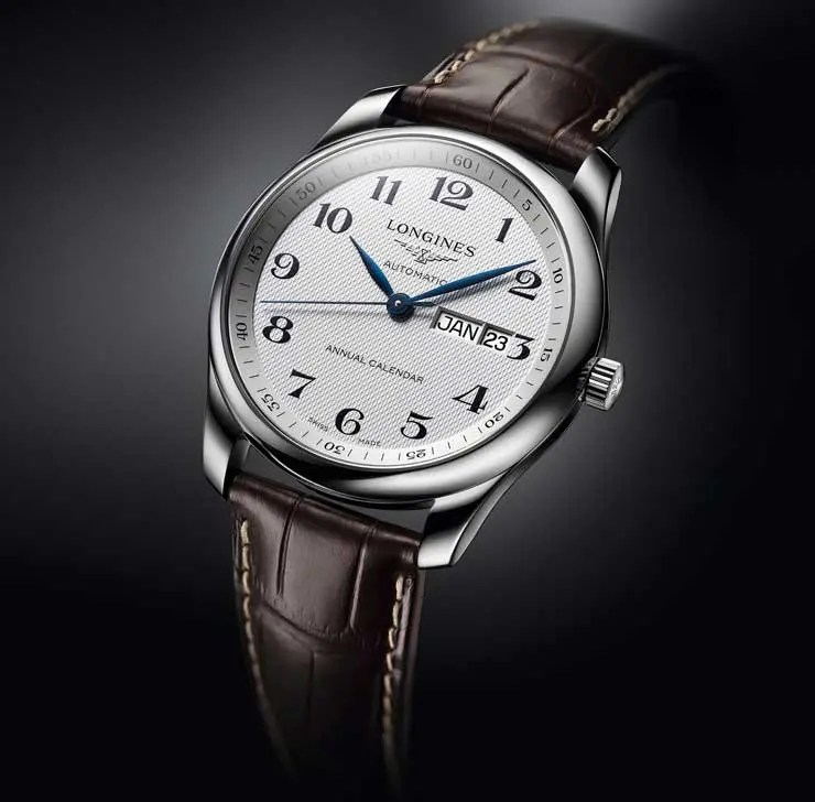 The Longines Master Collection Annual Calendar
