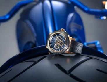 Teuerstes Custom Bike der Welt: Bucherer Harley Davidson Blue Edition