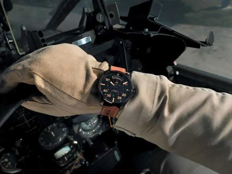Hamilton Khaki Pilot Auto Day Date