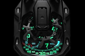 Es werde Licht: Urwerk UR-105 CT Kryptonite