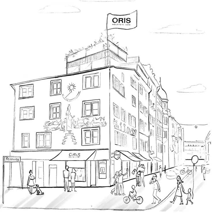 Oris Boutique in Zürich eröffnet