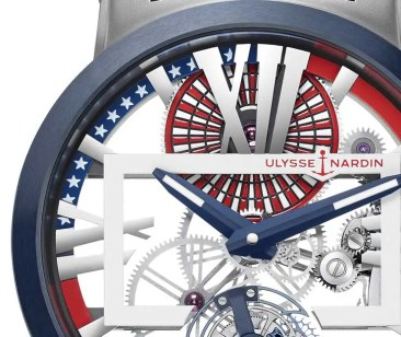 Ulysse Nardin Executive Skeleton Tourbillon Stars & Stripes