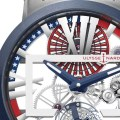 auf 50 Exemplare limitierte Sonderauflage der Executive Skeleton Tourbillon Stars & Stripes