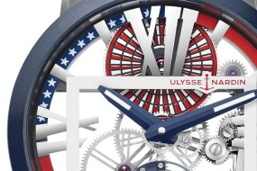 Ulysse Nardin Executive Skeleton Tourbillon Stars & Stripes