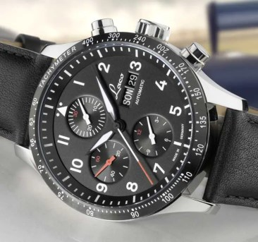 Von der Fliegerei zum Motorsport: Laco Chronograph Hockenheim