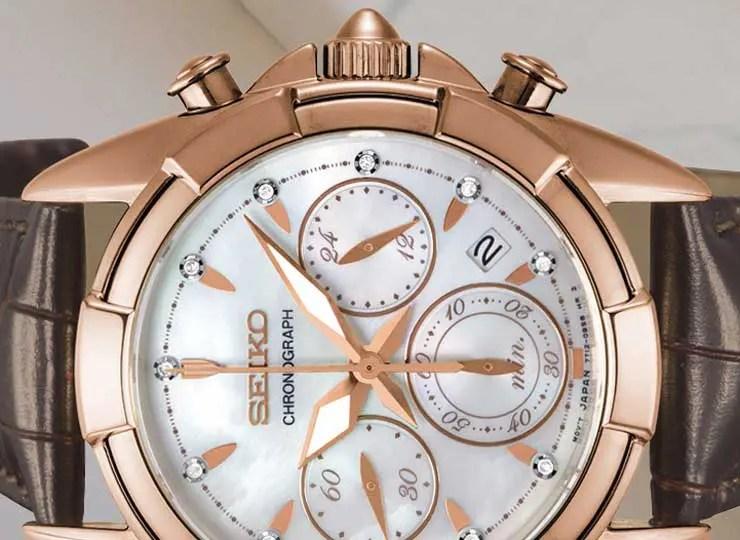 Edel und chic: der neue Seiko Damen Chronograph