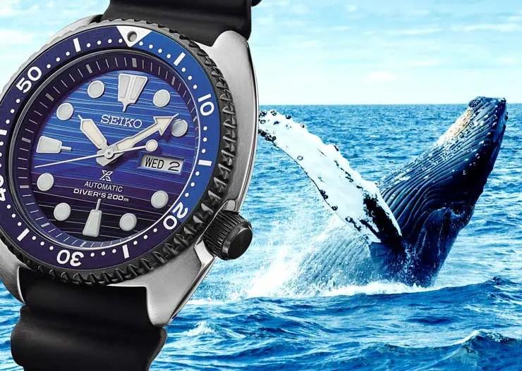 Seiko Prospex Save the Ocean: Taucheruhren für einen guten Zweck