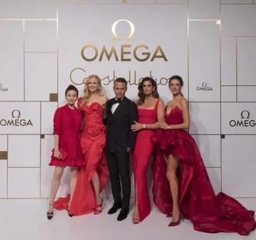 Vier Weltstars beim Launch der neuen Omega Constellation Manhanttan Linie