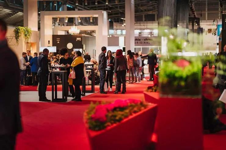 Inhorgenta München mit neuem Boutique- Konzept in der Uhrenhalle