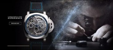 Panerai: neue Website mit Panerai Online-Boutique