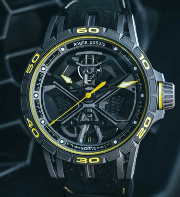 SIHH Sneak Preview: Roger Dubuis Excalibur Huracán Performante