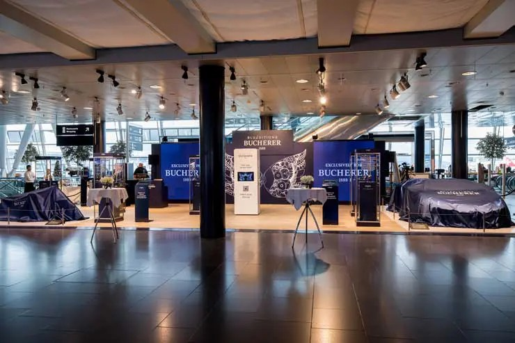 Roger Dubuis Bucherer Blue Editions Pop-Up @ Airport Zürich