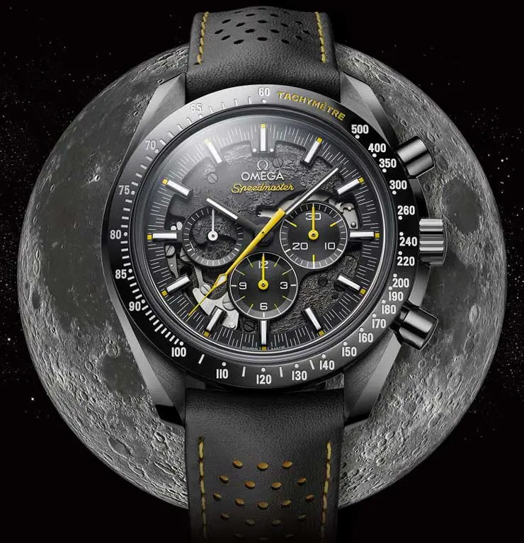 Zum 50-jährigen Jubiläum der Apollo 8-Mission: Omega Speedmaster Dark Side Of The Moon Apollo 8