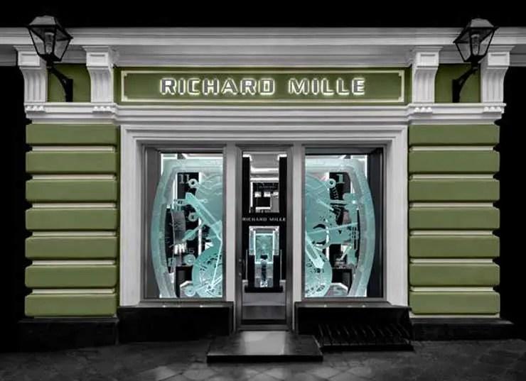 Erste Richard Mille Markenboutique in Russland eröffnet