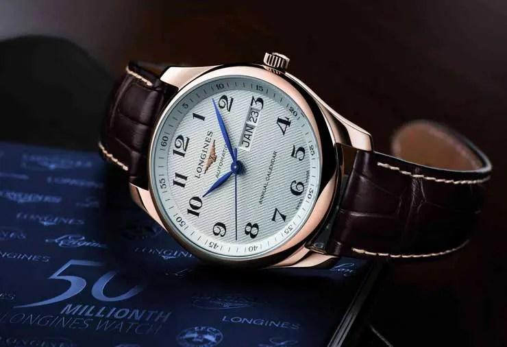 Longines feiert seine 50millionste Uhr