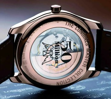 Longines feiert seine 50 millionste Uhr
