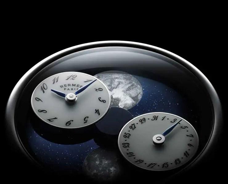 Magische Mondreise: Hermés Arceau L'heure de la lune