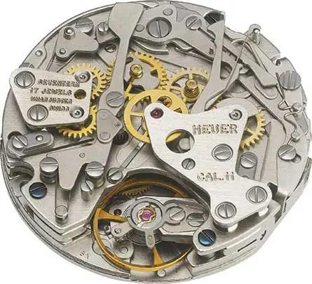 Calibre 11, das Uhrwerk der Heuer Monaco