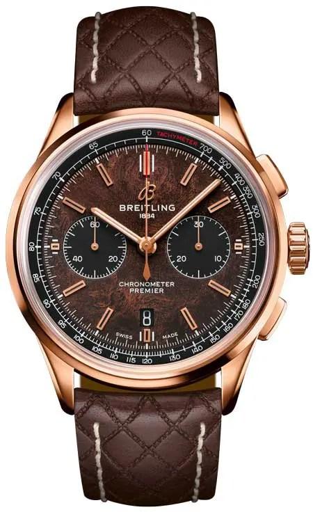 Gleichzeitig lancierte Breitling die Breitling Premier Bentley Centenary Limited Edition.