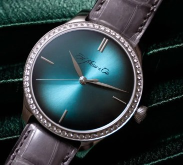 Baselworld Preview: Endeavour Centre Seconds Diamonds Purity von H.Moser & Cie