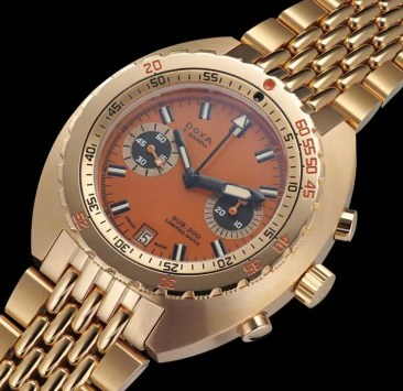 Comeback des clockwork orange: Doxa T-Graph limited edition