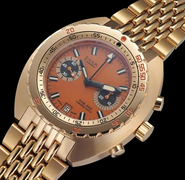 Comeback des clockwork orange: Doxa T-Graph limited edition