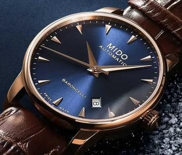 Zeitlos elegant: Mido Baroncelli Midnight Blue für Sie und Ihn
