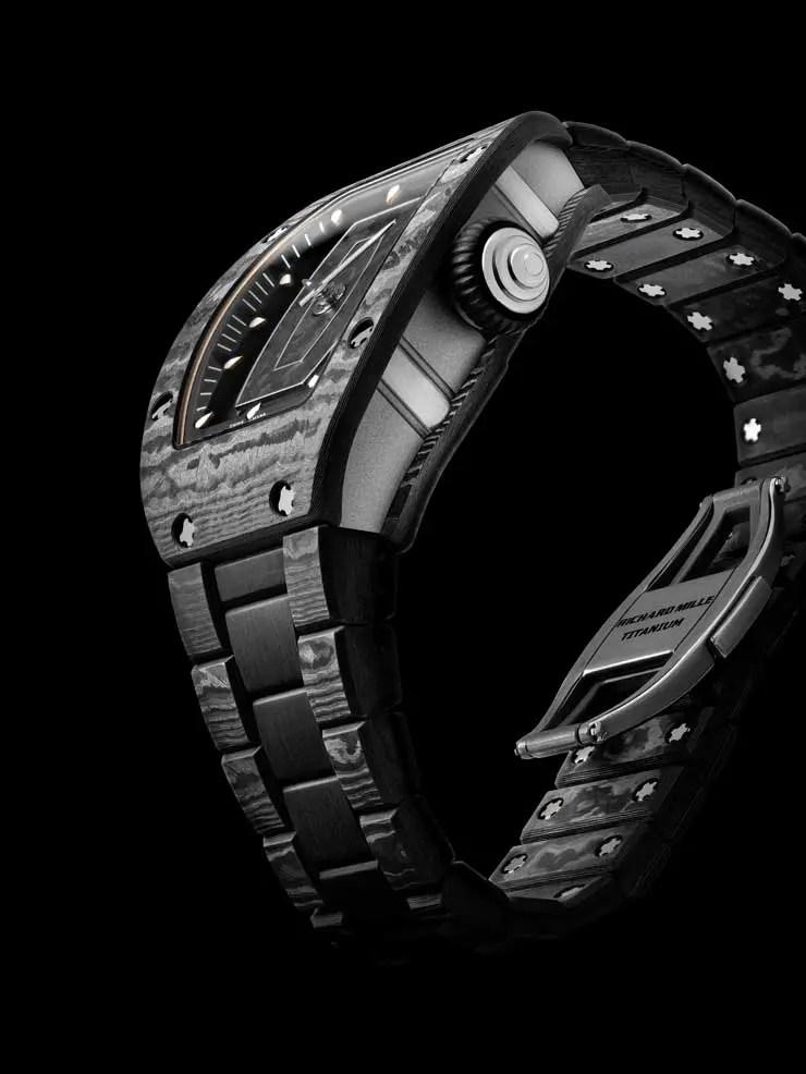 Armbandes aus Carbon TPT® der RM 07-01