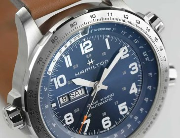 Hamilton Khaki Aviation X-Wind Day Date Auto Red Bull Air Race