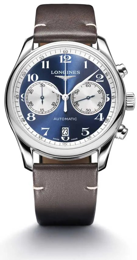 Longines Master Collection Chronograph Bucherer Blue Editions