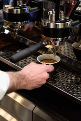 Breitling Kaffee in der Boutique bei Jelmoli in Zürich