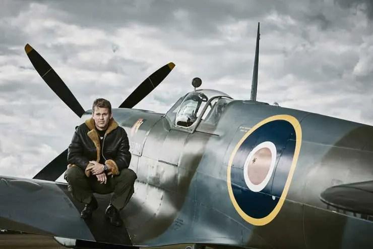 Silver Spirit Pilot Matt Jones