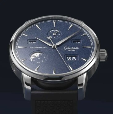 Senator Excellence Ewiger Kalender limited Bucherer Blue Editions