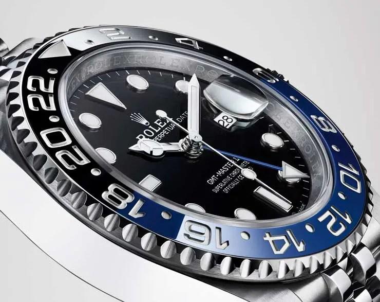 Rolex Oyster Perpetual GMT-Master II mit Lünette aus blauer und schwarzer Keramik