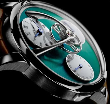 Legacy Machine Split Escapement Titanium Green