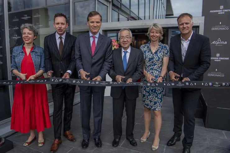 Erweiterter Firmensitz und Produktionsstätte von Frederique Constant eröffnet