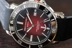Challenger Deep Red: die etwas extravagante Sportuhr von Emile Chouriet