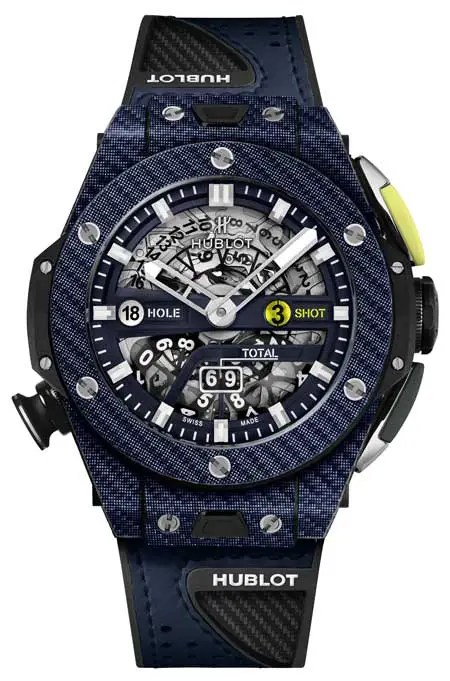 Big Bang Unico Golf Blue Carbon