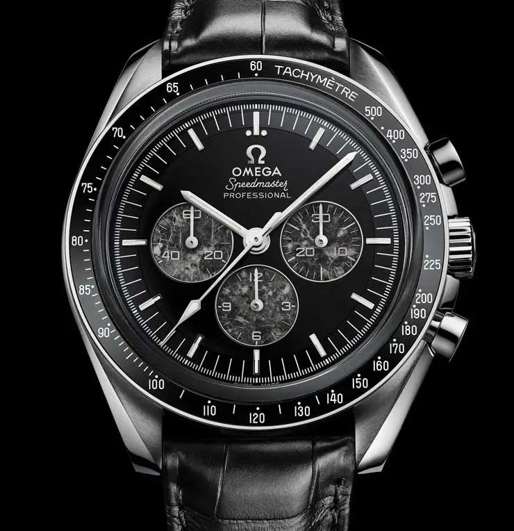 Touchdown: Omega Speedmaster Moonwatch Platinum mit Kaliber 321