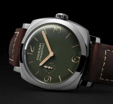 Radiomir Edizione verde militare: exklusive Boutique-Edition von Panarai