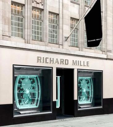 Richard Mille Boutiqe London jetzt in der Old Bond Street
