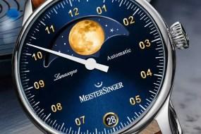 Lunascope mit Goldmond: nicht nur für Mondsüchtige