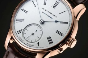 Gangreserve Vintage: klassische Taschenuhr von Moritz Grossmann diente als Vorlage