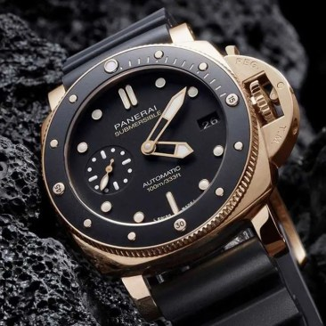 Panerai Submersible 42 mm mit neuer Variante in Goldtech™