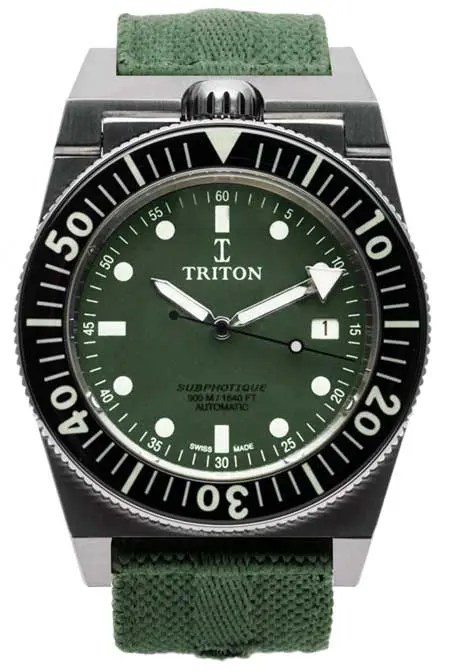 Subphotique Navy Green Triple Black limited Edition