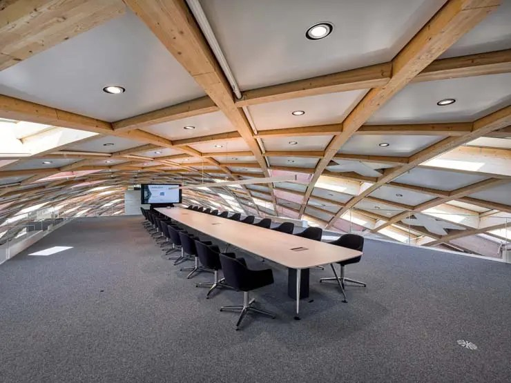 meeting room, Swatch Hauptsitz, Biel