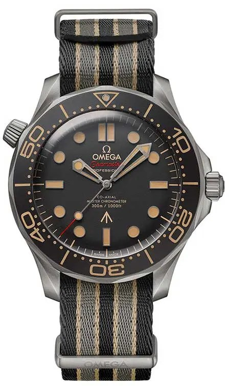 Die Omega Seamaster Diver 300M 007 Edition James Bond no time to die